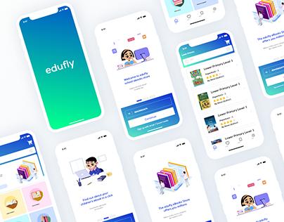 Edufly eBook Store Free UI KIT 2020