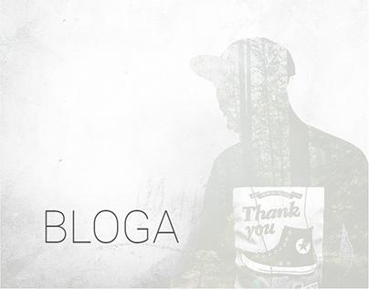 Bloga - Modern Creative Multipurpose Blog PSD Template