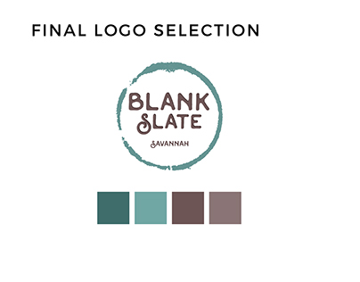 Logo Development - Blank Slave Savannah
