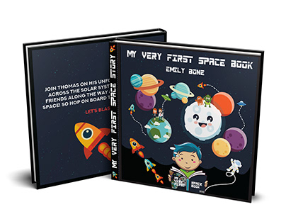 MY VERY FIRST SPACE BOOK - EMILY BONE