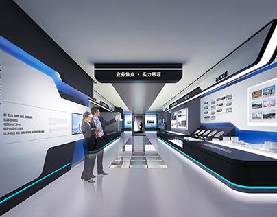 China ENFI Enterprise exhibition hall
