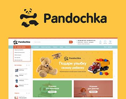 Pandochka — toys