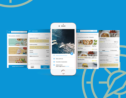Boat Food Delivery App Concept - User Research & UX/UI