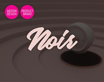 Noir BT Headphones | Product- & Motion Design