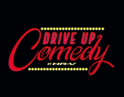 Logo Drive Up Comedy