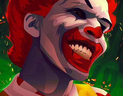 Halloween Affiche - Evil Ronald