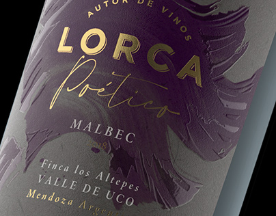 LORCA POÉTICO - Art, Illustration & Packaging design