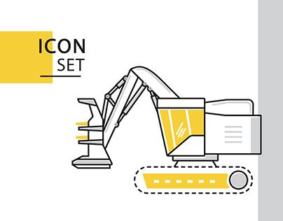 Enalta Machinery Icon Set