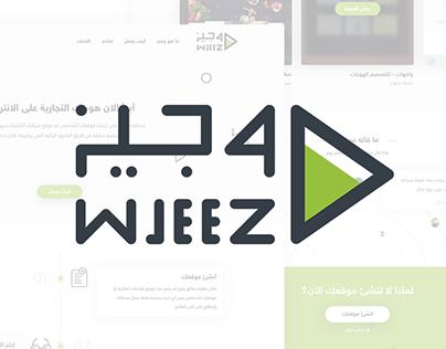 Wjeez - Identity & Landing Page