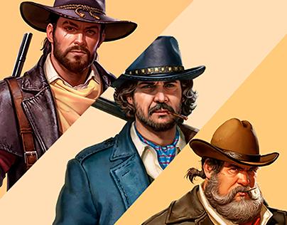 Characters for Wild Frontier (Part II)