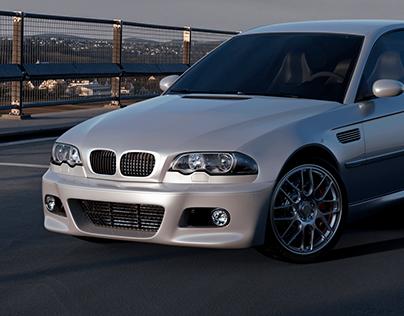 BMW M3 E46 - 3D modeling - Free download