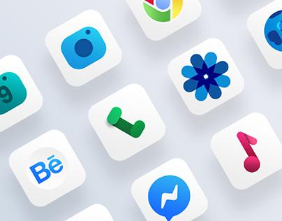Material icons design
