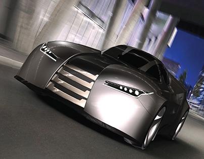 Fluidic coupe concept car for Hyundai
