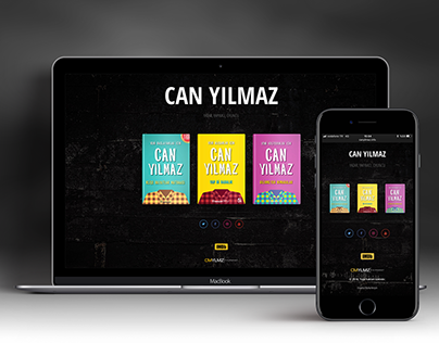 Can Yılmaz Teaser Web Site