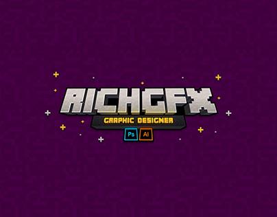Minecraft Text Effect