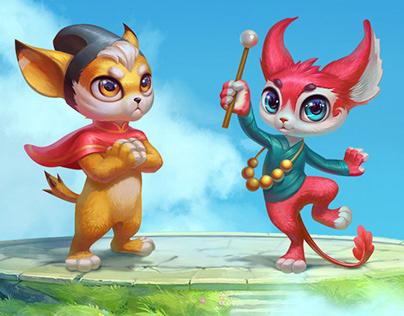 Chi slot game for ELK Studio