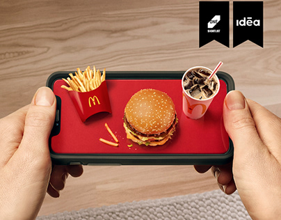 McDelivery - On a palm-sized platter