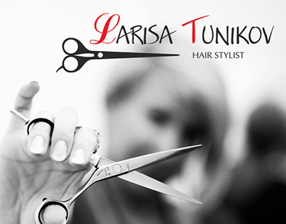 Logo design for hair stylist.