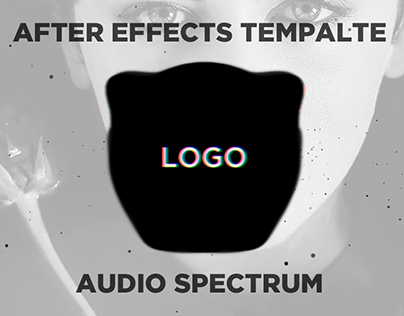 After Effects Template Trap Nation Audio Spectrum On Behance - Text effect after effects template