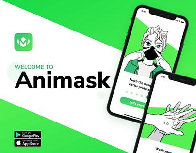 Animask mobile app