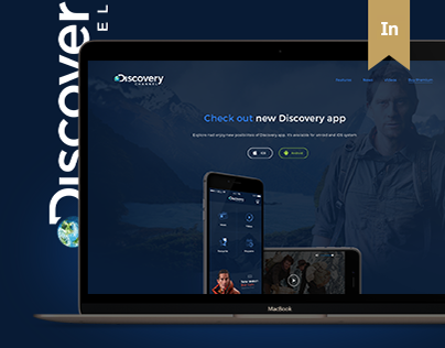 Discovery Channel - app and website concept