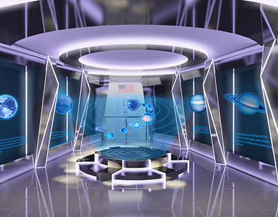 Exhibition Design - Astronomy Science and Technology