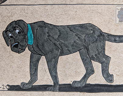 101 Dalmatians Labrador Retriever Fan art drawing