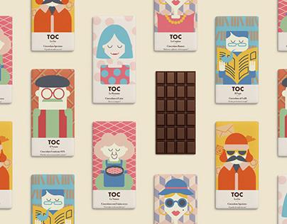 TOC! Pezzi di bontà - Chocolate Brand Identity