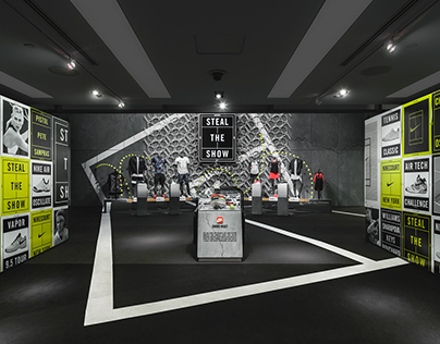 NIKE TOWN NYC - US OPEN 2015