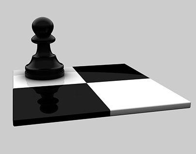 3D Pawn on Chess