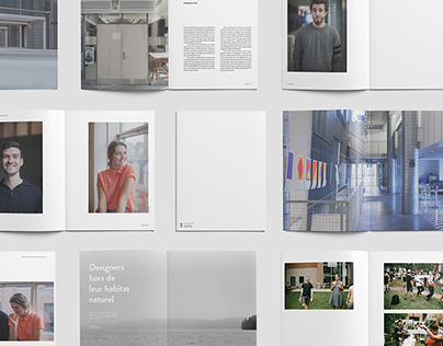 instance. | Identity, Website and «Yearbook»
