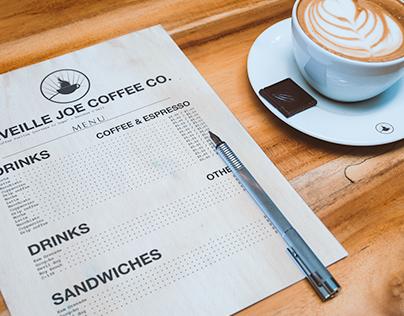 Reveille Joe Coffee Co. Branding and Identity Concept