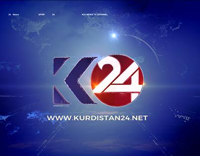 Kurdistan 24 Website /EXP work
