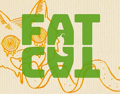 Fat Cat sauces - Rebranding
