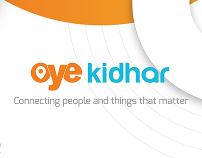 Oye Kidhar - Visual Identity and Branding