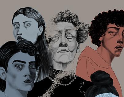 Illustration for magazine ''Principia''