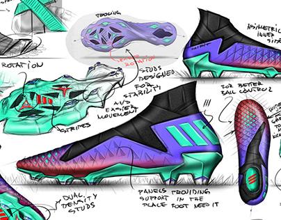 ADIDAS FOOTBALL CONCEPT /// #adidasxlacelessxpa