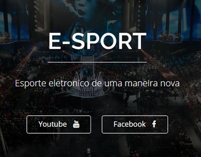Site Revista E-Sport