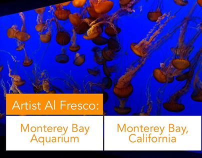 Artist Al Fresco: Monterey Bay Aquarium
