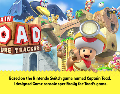 Game Console - Captain Toad