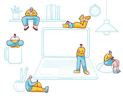 Software Development Courses Animation