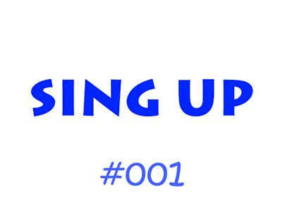 Daily UI #001Sing up