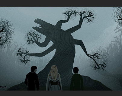 A scene from Sleepy Hollow