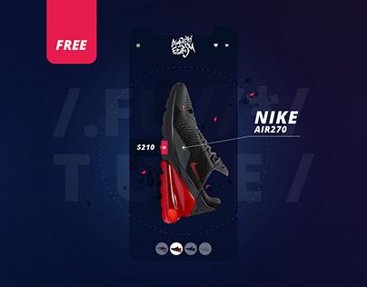 E-commerce ///Free UI KIT ///Adobe XD