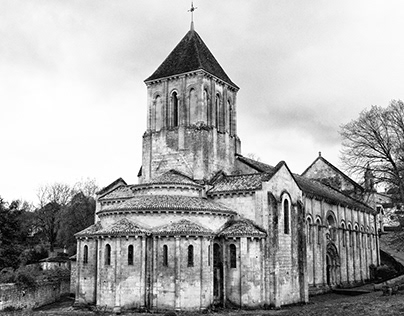 Churches in Black And White