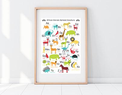 Hugging Hippo // Poster & Stationary Design