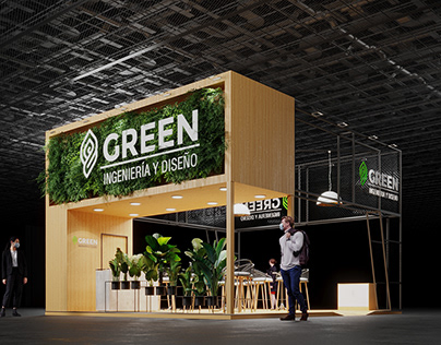 GREEN STAND DESIGN CONCEPT