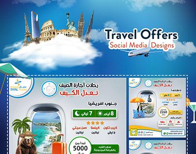 Travel Offers l Social Media Designs
