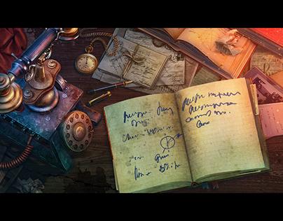 "Some art work of HOPA game ""Whispered Secrets 10"""