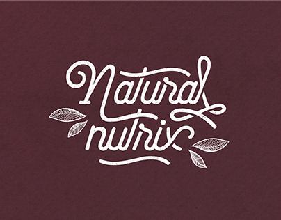 Branding design para la marca Natural Nutrix